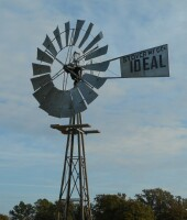 10' Ideal Steel Windmill